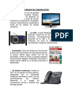5 Medios de Comunicación
