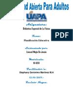 Tarea Unidad II Linavel Mejia Didactica Especial de La Fisica