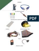 Materiales Taller Arduino