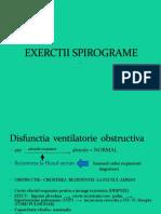 EXERCTII SPIROGRAME
