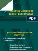 Aspectos Genéricos Sobre Programação
