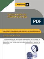 Reguladores de Presión de Gases RU