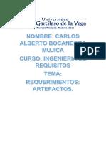 Artefactos Ing. Requisitos