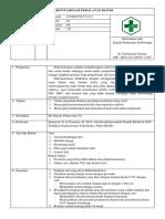 7.3.2.2 SOP Dekontaminasi Peralatan Klinis