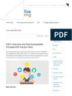 HSPT_ Overview and Free Dowloadable Printable PDF Practice Tests - WorldWise Tutoring