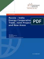 Russia – India Energy Cooperation