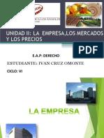 Empresa ,Mercado y Precios