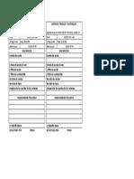 Orden de Trabajo y Materiales 0-438