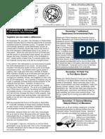 November 2006 White Bird Newsletter Peace River Audubon Society