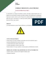 Normas de Seguridad y Riesgos en La Electricidad
