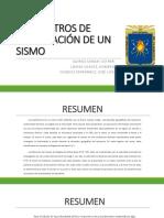 5. PARÁMETROS DE LOCALIZACIÓN DE UN SISMO (1).pptx