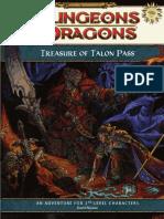 Treasure of Talon Pass [Free RPG Day '08]
