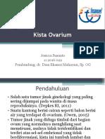 PPT Presentasi Kasus Kista Ovarium