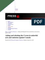 Criminal Crown Agents