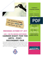 Oct 18 Career Fair