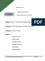 TP 3 Analisis Institucional