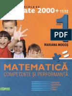 Competente.si.Performanta Matematica Clasa.1 Ed.paralela.45 TEKKEN