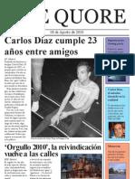 Periódicon The Quore Regalo Carlos