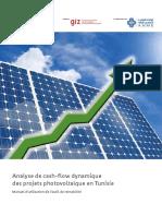 Analyse de Cash-flow Dynamique Des Projets Photovoltaïque en Tunisie