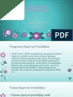 Pengertian , Tujuan Dan Ruang Lingkup Supervisi Pendidikan Ppt
