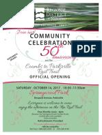 Community Celebration Oct 14 2017