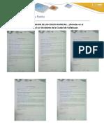 Carta de Presentacion de Las Cincos Familas Monica Jimenez