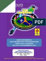 Boletin Scout Del Xxiii Camporee Scout no Agosto 2010