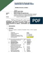Informe de Compatibilidad Ing. Saenz