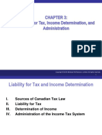 Canadian Income Taxation Ch03