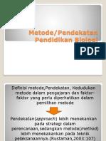 PPT PPB Metode Dan Pendekatan
