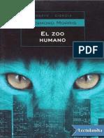 El Zoo Humano - Desmond Morris