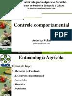 Entomologia Agrícola_Controle Comportamental