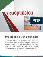 Procesos de Veno Punción