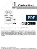 Manual Boss DS-1