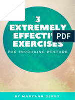 3 Extremely Effective Exercises for Improving Posture by Maryann Berry