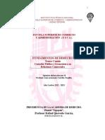 III y IV Fund. de Derecho. Apuntes