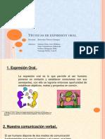 Presentación - Técnicas de Expreción Oral