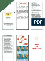 Leaflet Hand Hygiene