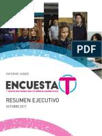 Informe Ejectuvo Encuesta T