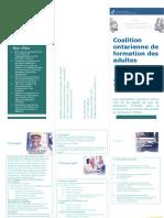 exemple de brochure -cofa