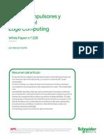 Factores Impulsores y Ventajas Del Edge Computing
