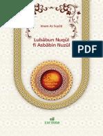 Asbabun Nujul Imam as-Suyuti.indd