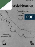 Flora de Veracruz Boraginaceae