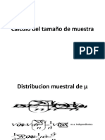 Distribucion de La Media Poblacional