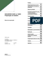 Sinumerik 840D_sl 828D_Preparação Do Travalhor_Pt