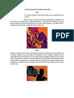 5 Generos Musicales Amercia Central Norte Sur Europa