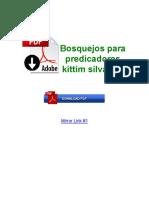 Bosquejos Para Predicadores Kittim Silva PDF
