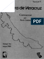 Flora de Veracruz Cannaceae