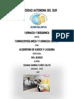 Algortimo de Karch y Lasagna - Susy