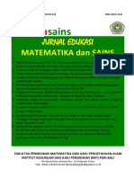 Jurnal Emasains vol V no 1 Maret 2017